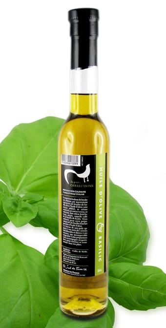 huile d'olive & basilic